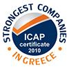 ICAP Strongest Companies 2010